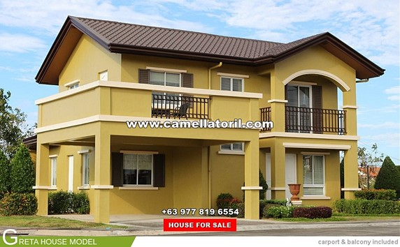 Camella Toril House and Lot for Sale in Toril Philippines