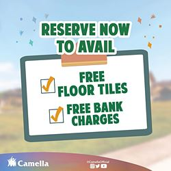 Promo for Camella Toril.